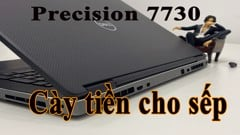 Dell Precision 7730 Laptop in tiền