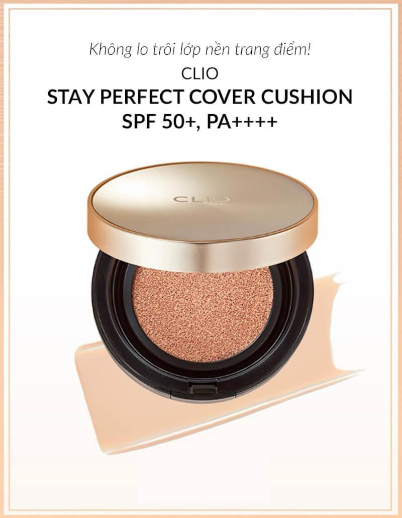 Clio Stay Perfect Cover Cushion