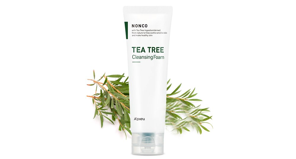 Apieu Nonco Tea Tree Cleansing Foam 130ml