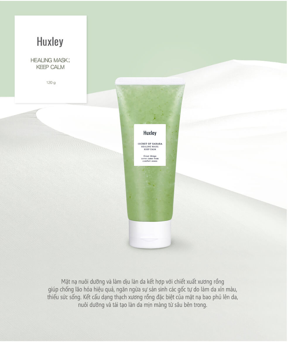 Huxley Secret Of Sahara Healing Mask Keep Calm 120g
