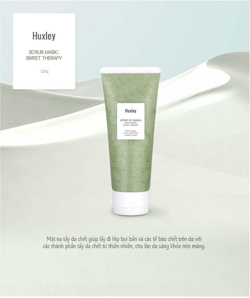 Mặt Nạ Tẩy Tế Bào Chết Huxley Secret Of Sahara Scrub Mask Sweet Therapy 120g