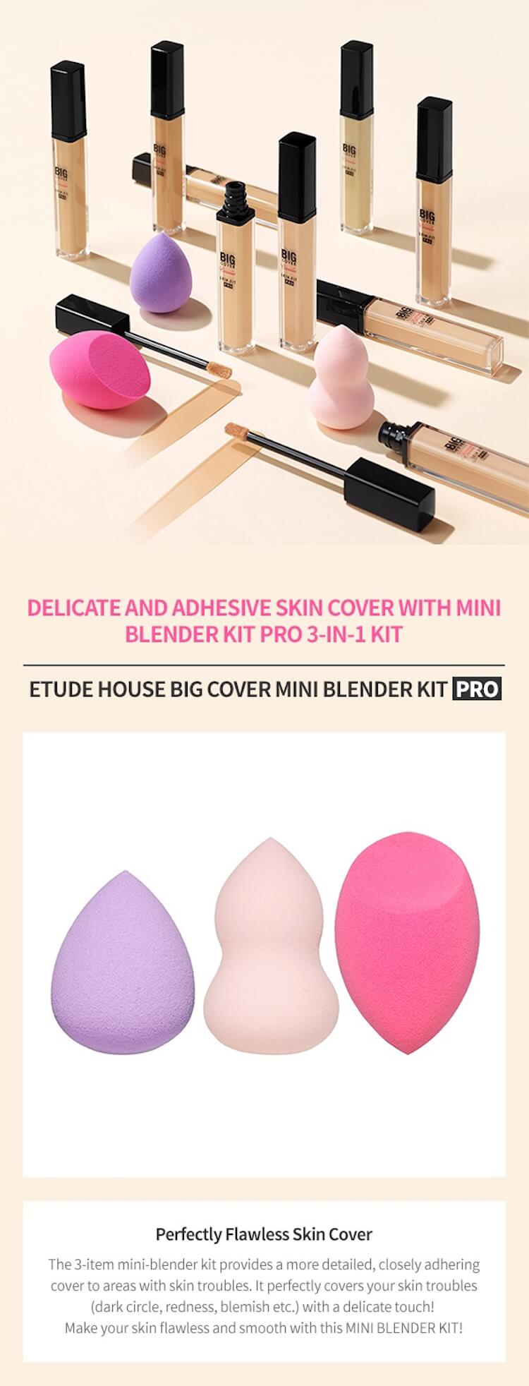 Etude House Big Cover Mini Blender Kit Pro