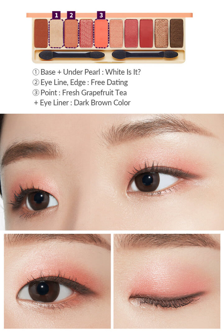 Etude House Play Color Eyes Peach Palm 0.8Gx10
