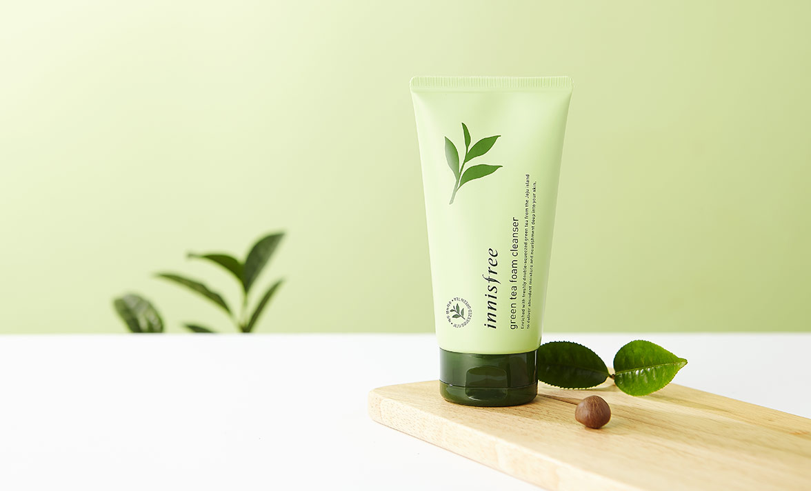 Image result for Innisfree Green Tea Cleansing Foam