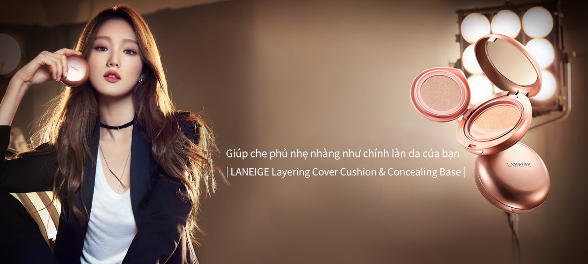 Laneige Layering Cover Cushion & Concealing Base 16.5g