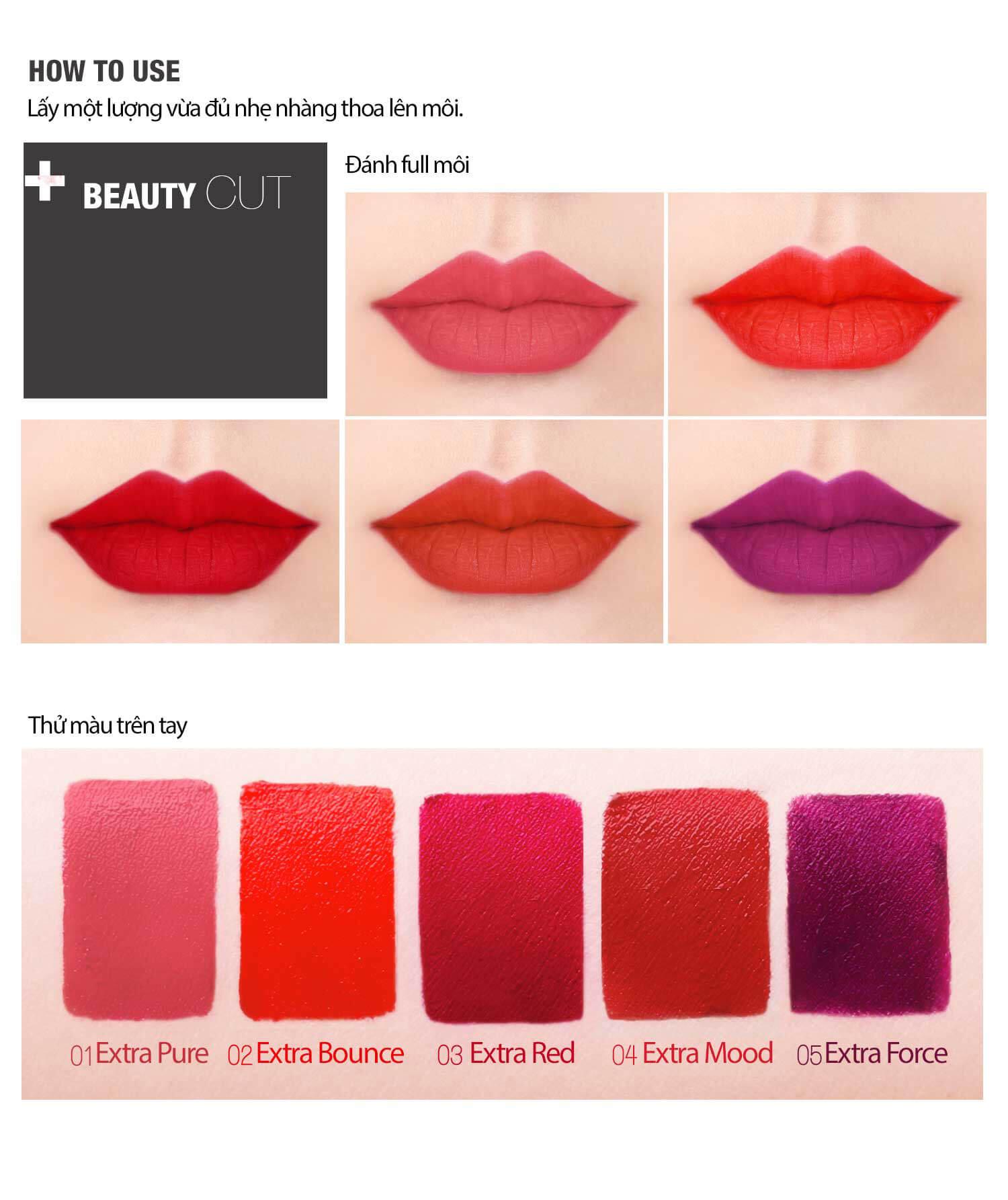Bbia Last Velvet Lip Tint No.04 Extra Mood