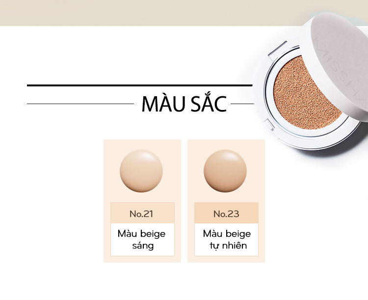 Missha Magic Cushion Cover Lasting SPF50+ PA+++