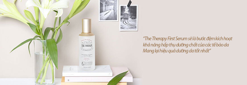 Nước Thần Phục Hồi Da Thefaceshop The Therapy First Serum 130ml