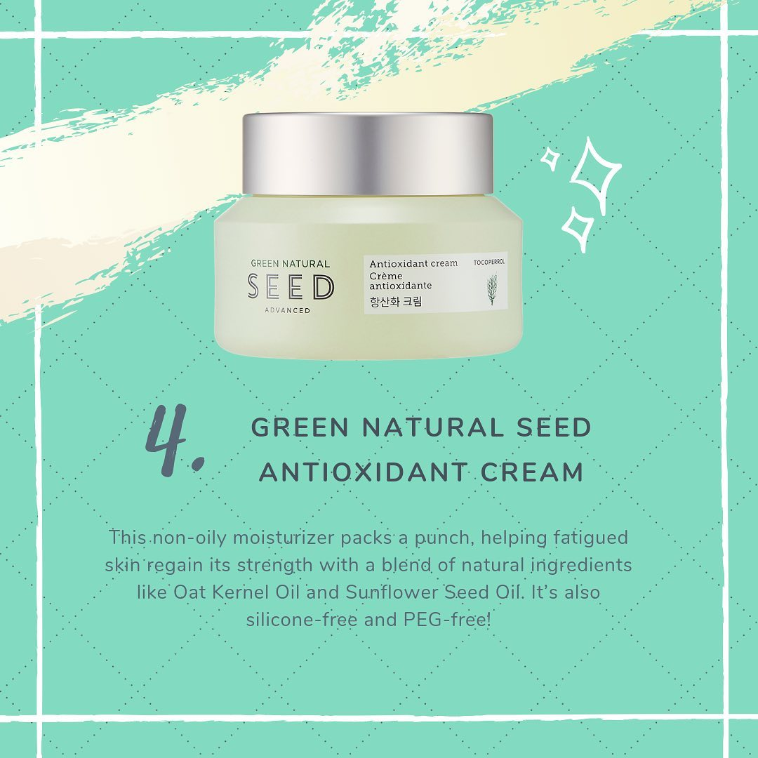 Thefaceshop Green Natural Seed Advanced Antioxidant Cream 50ml