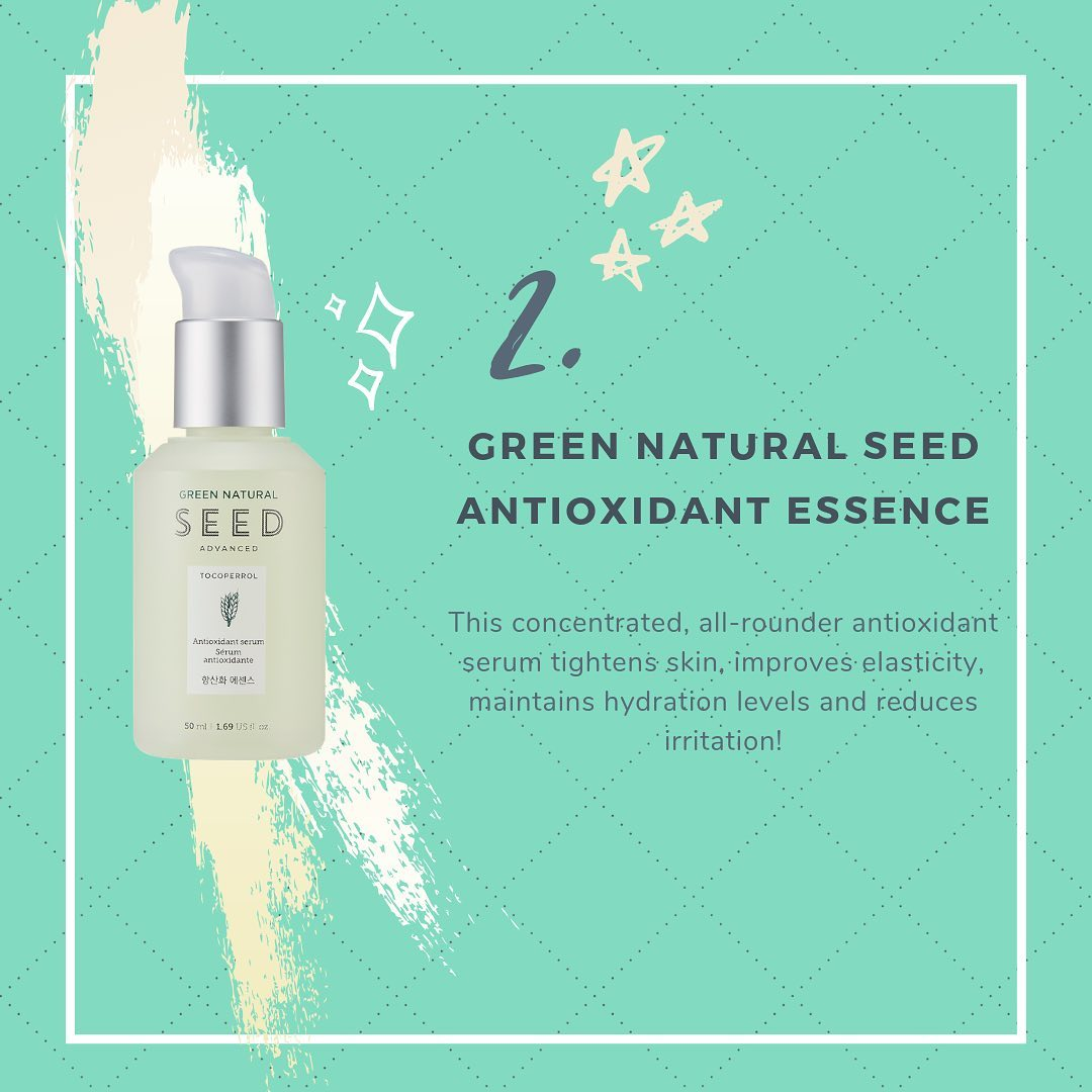 Thefaceshop Green Natural Seed Advanced Antioxidant Essence 50ml