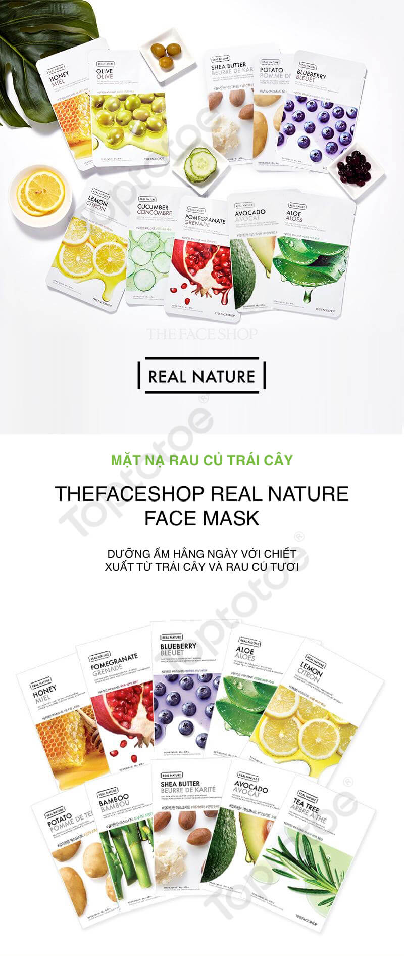 THEFACESHOP REAL NATURE