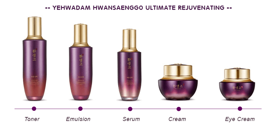 Thefaceshop Yehwadam Hwansaenggo Ultimate Rejuvenating Serum 45ml