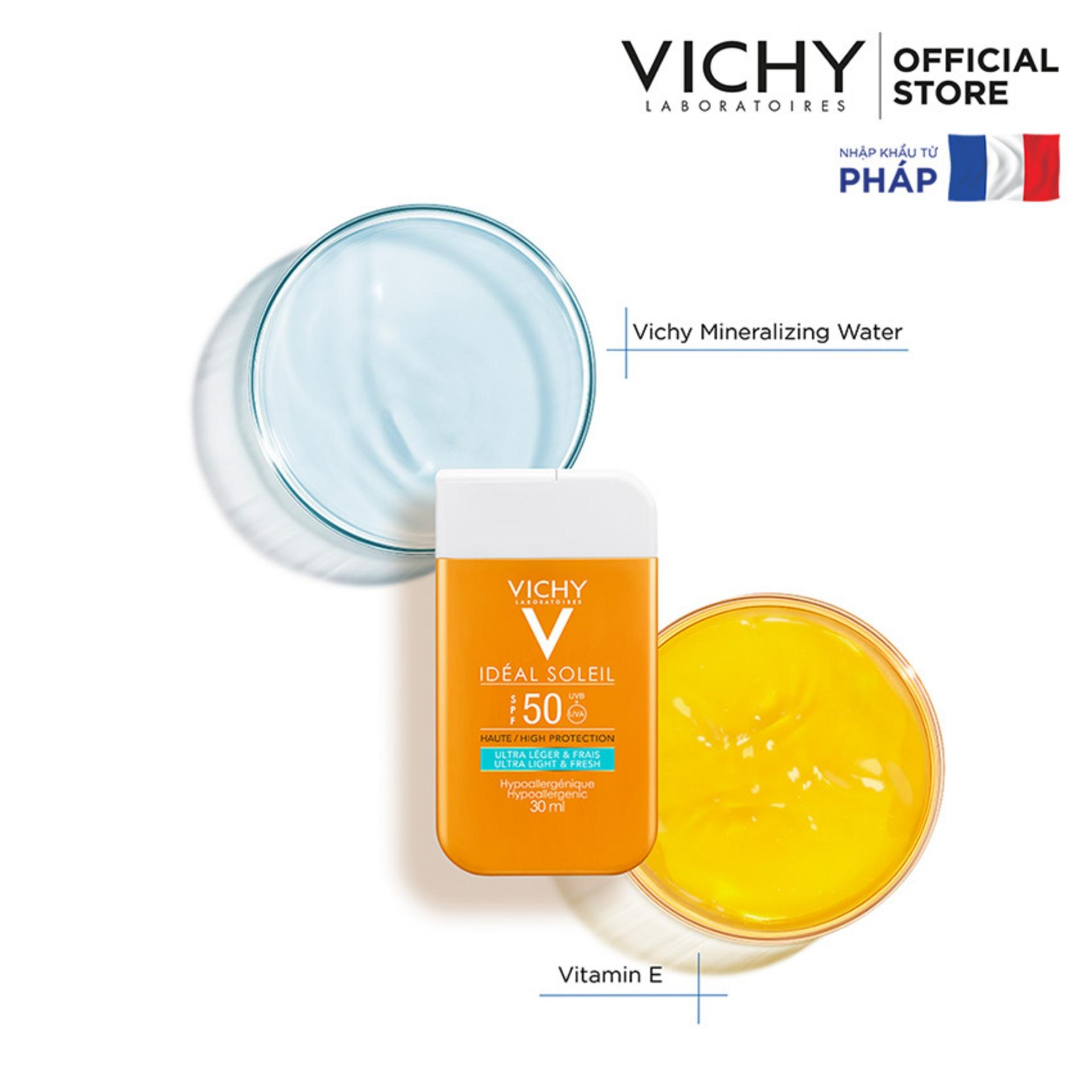 Vichy Ideal Soleil Ultra Light & Fresh SPF 50 UVB + UVA 30ML