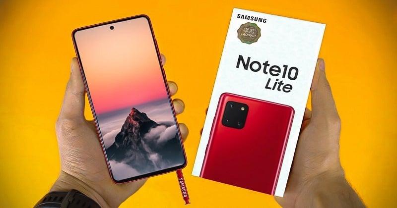 Samsung Galaxy Note 10 Lite - Hàng Phân Phối Chính Hãng