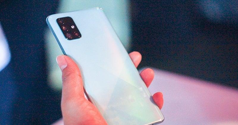 Samsung Galaxy A71 - Hãng Phân Phối Chính Thức