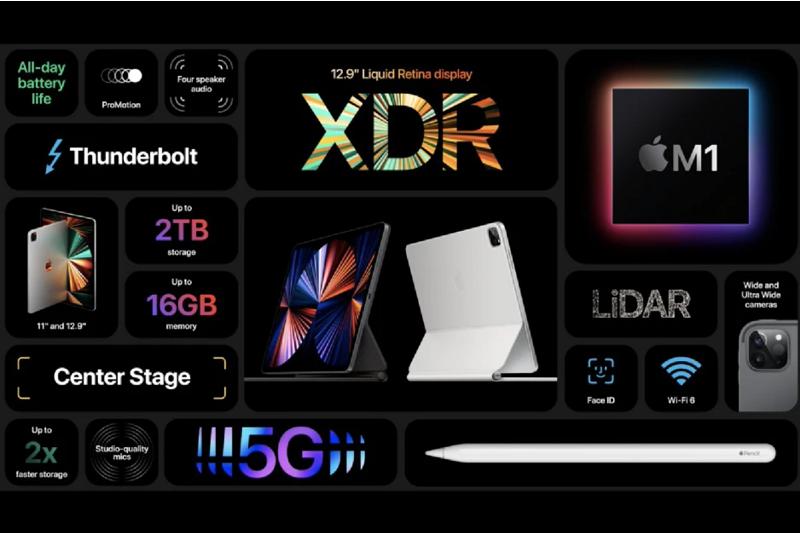 iPad Pro M1 12.9 inch Wifi + 5G ( 2021 ) - Chính Hãng VN/A ( Đặt Hàng )