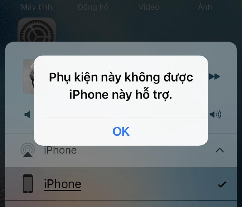 Phải làm gì khi iPhone không kết nối được với phụ kiện?