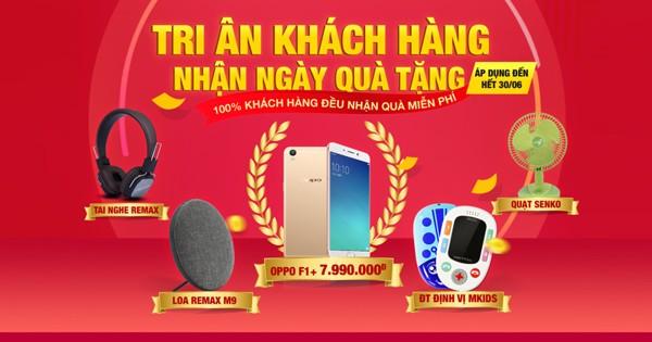 tri ân khách hàng tháng 06.2019 Minh Hoàng Mobile