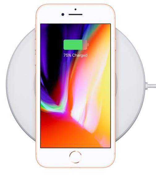 xạc không dây iphone 8 plus