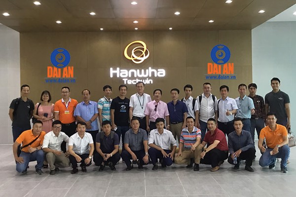 Hanwha techwin security viet nam