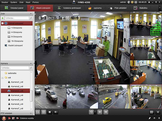 ivms-4000 cms camera hikvision