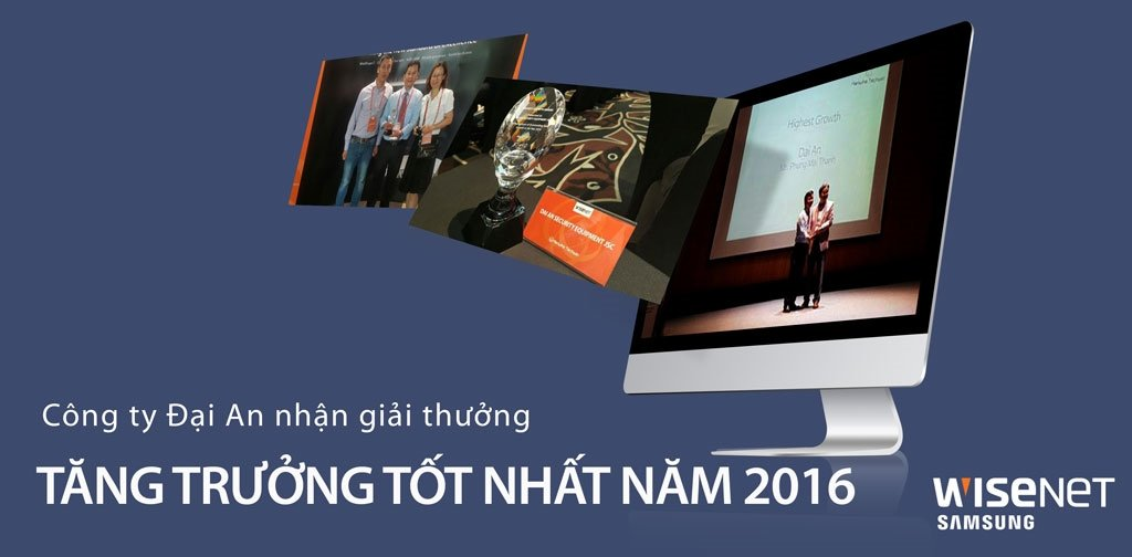 Đại An & Hanwha Techwin highest growth company 2016