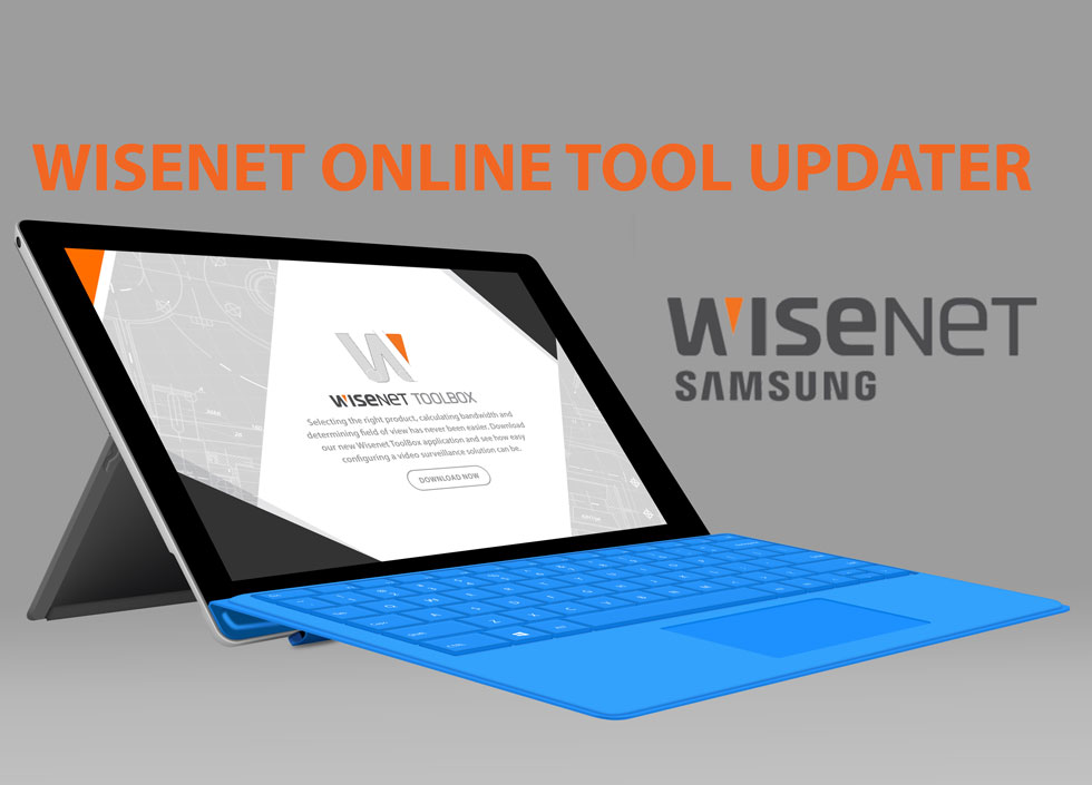 Wisenet online updater hanwha techwin security