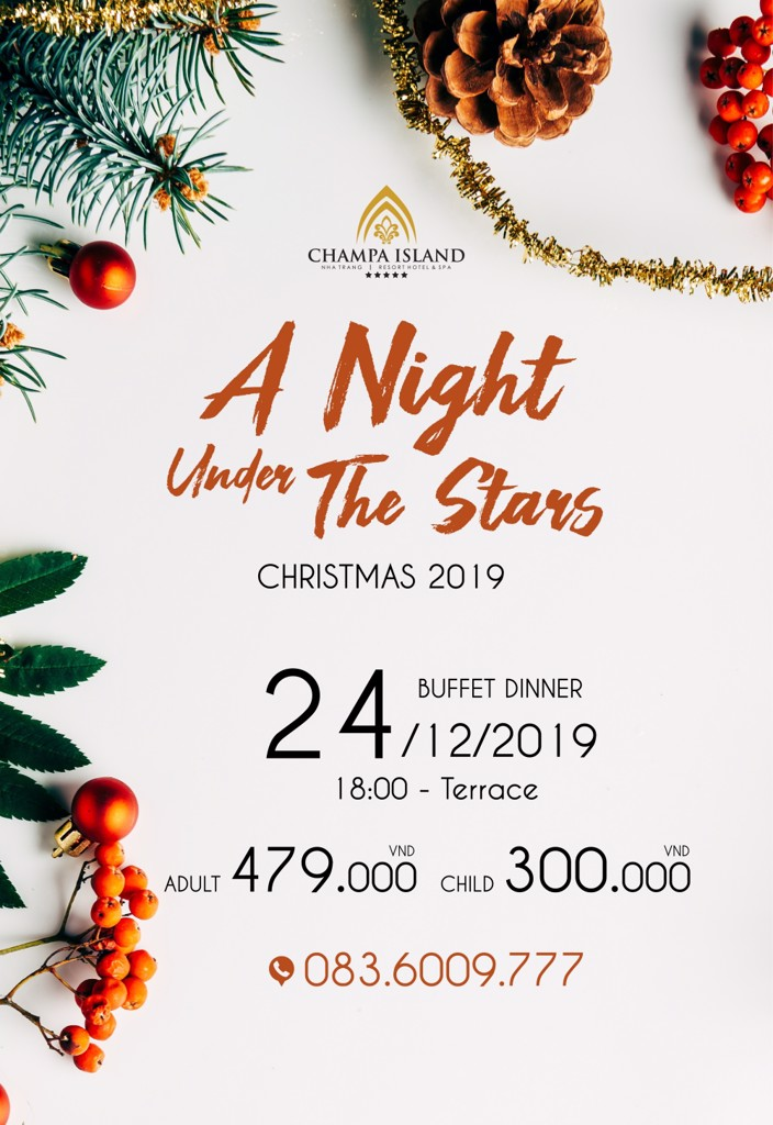 MERRY CHRISTMAS 2019 BUFFET DINNER