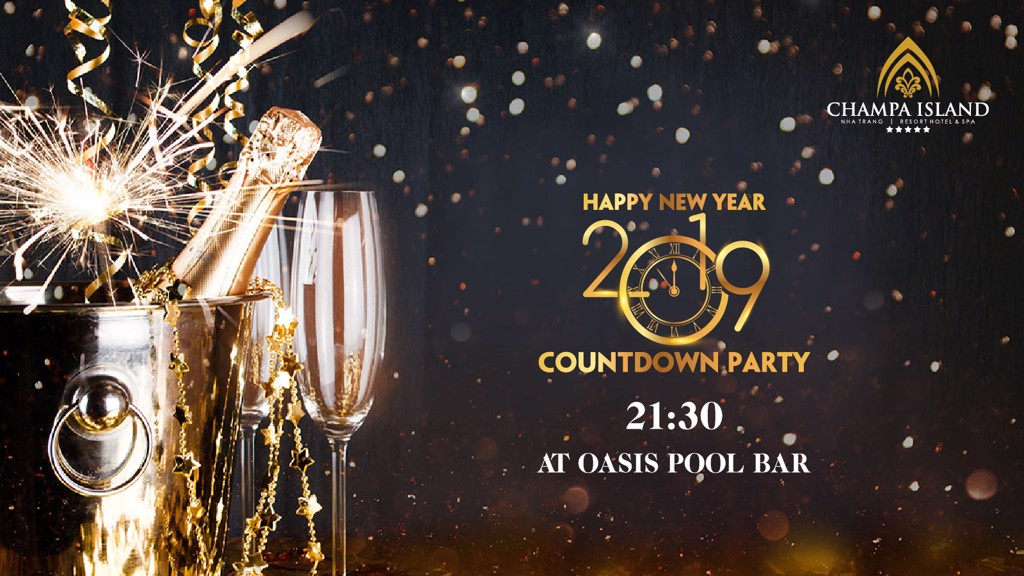 COUNTDOWN CELEBRATION TO WELCOME 2019