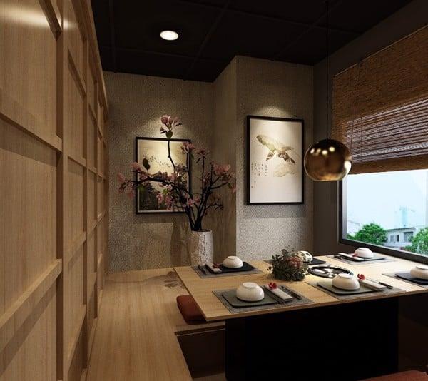 Thiết kế và Thi công Nội - Ngoại thất: Nhà hàng Lê Thánh Tôn
