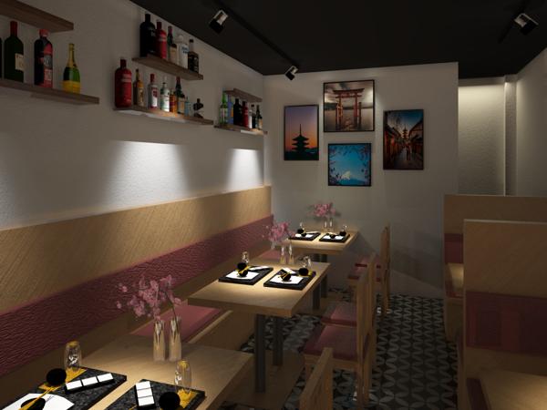 Thiết kế thi công Nội thất, cung cấp đồ trang thiết bị bếp công nghiệp: Nhà hàng Thái Văn Lung