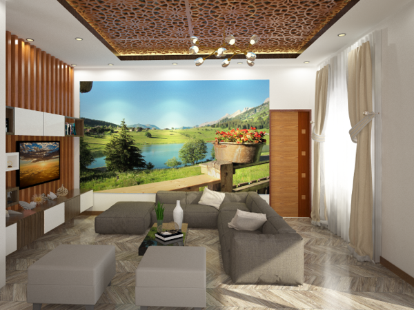 Xây dựng - Thiết kế trang trí Nội ngoại thất: Biệt thự vườn Anh Phong Củ Chi