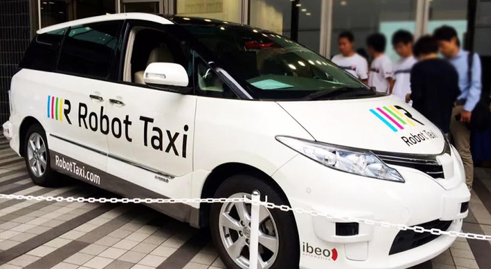 Taxi không người lái Olympic Tokyo 2020
