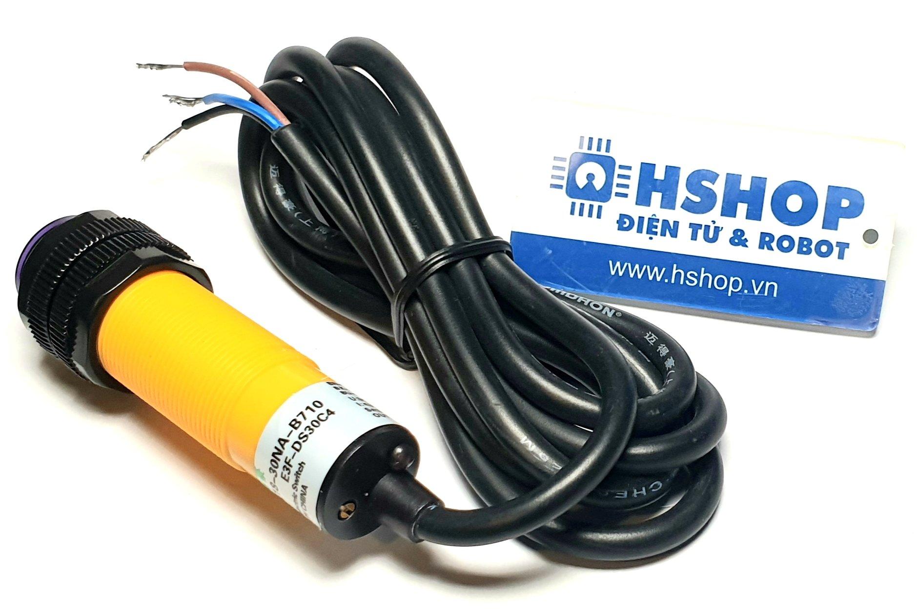Cảm biến vật cản hồng ngoại E3F-DS30C4 Adjustable IR Infrared Proximity Sensor