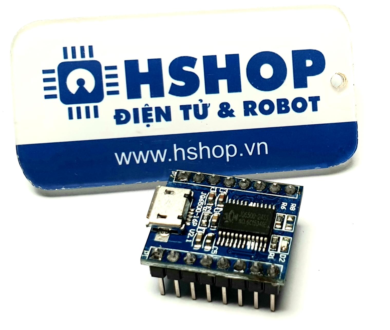 Mạch phát âm thanh MP3 tích hợp Amply + Flash 16M giao tiếp UART JQ6500