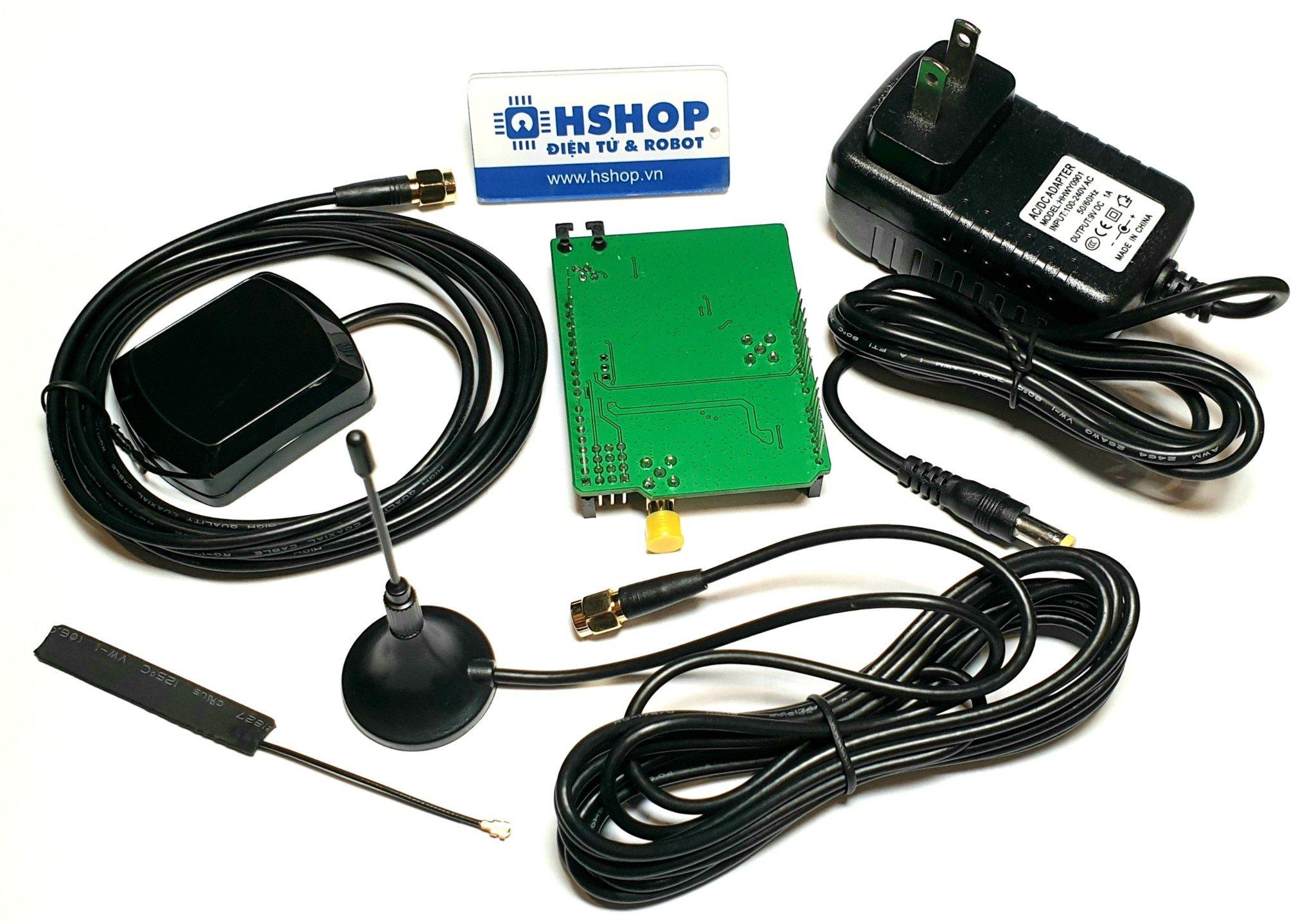 Arduino GSM, GPRS, GPS, Bluetooth SIM808 Shield