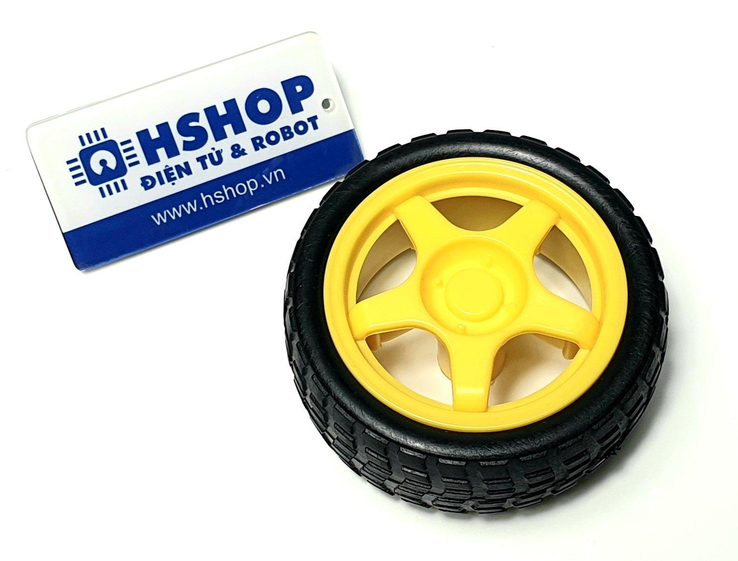 Bánh xe TT Motor Plastic Wheel 65mm