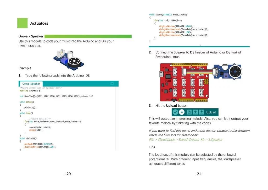 Bộ Combo 20 cảm biến Grove Creator Kit Anpha
