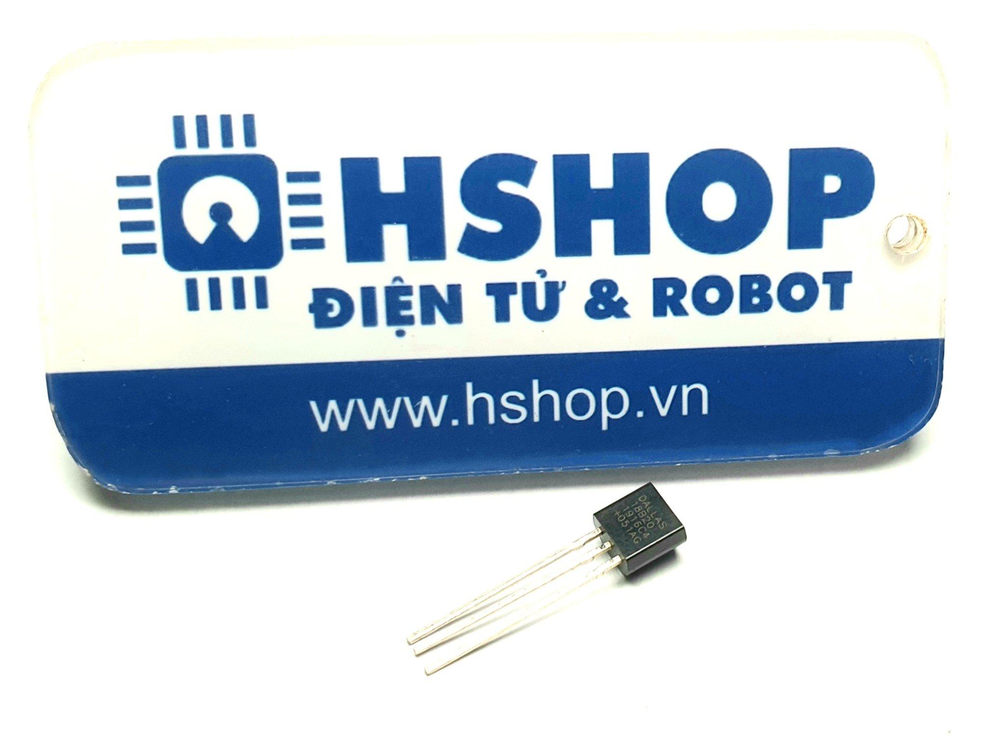Cảm biến nhiệt độ DS18B20 1-Wire Digital Temperature Sensor IC
