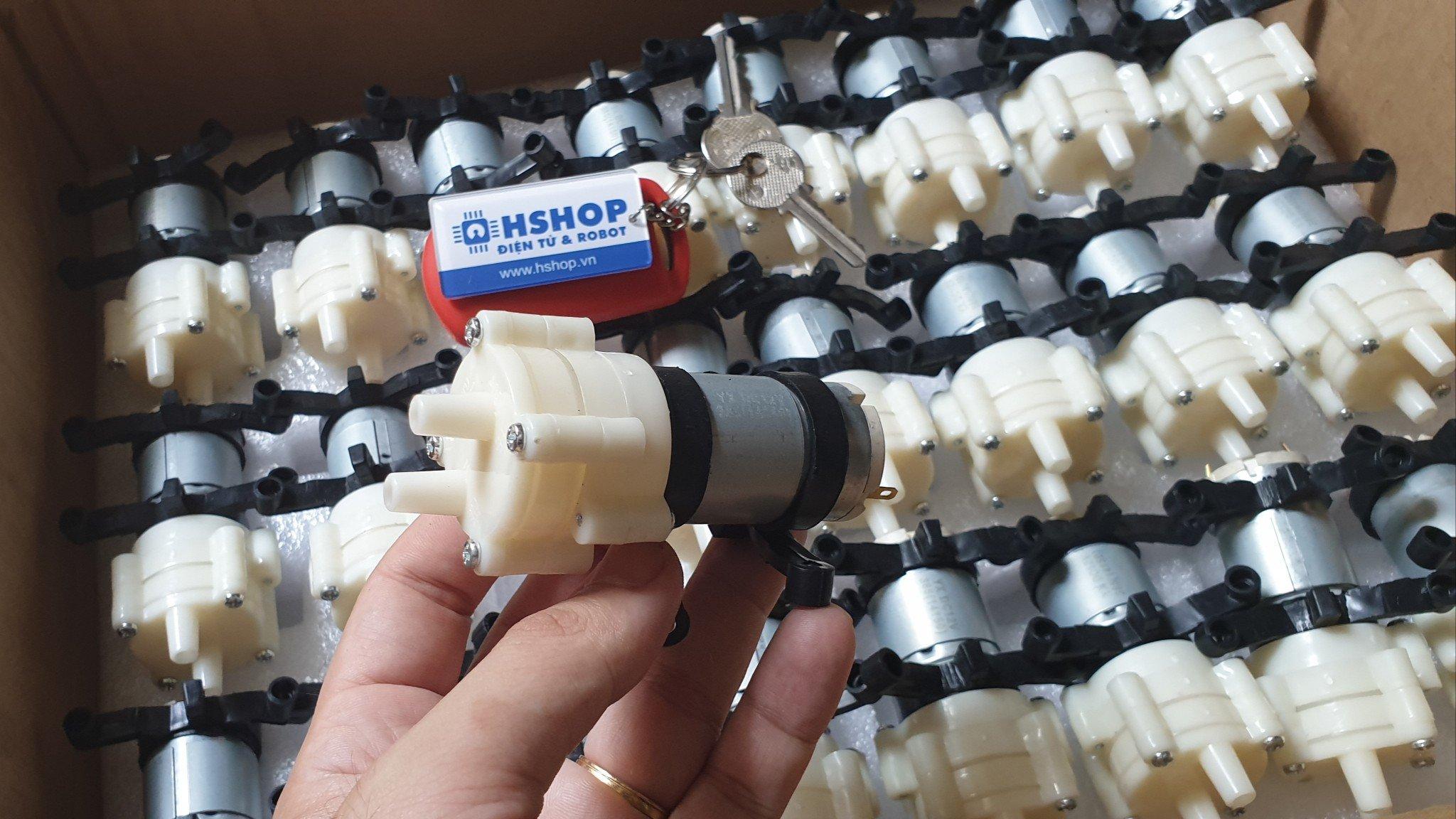 Động cơ DC bơm nước Water Pump P385 12VDC