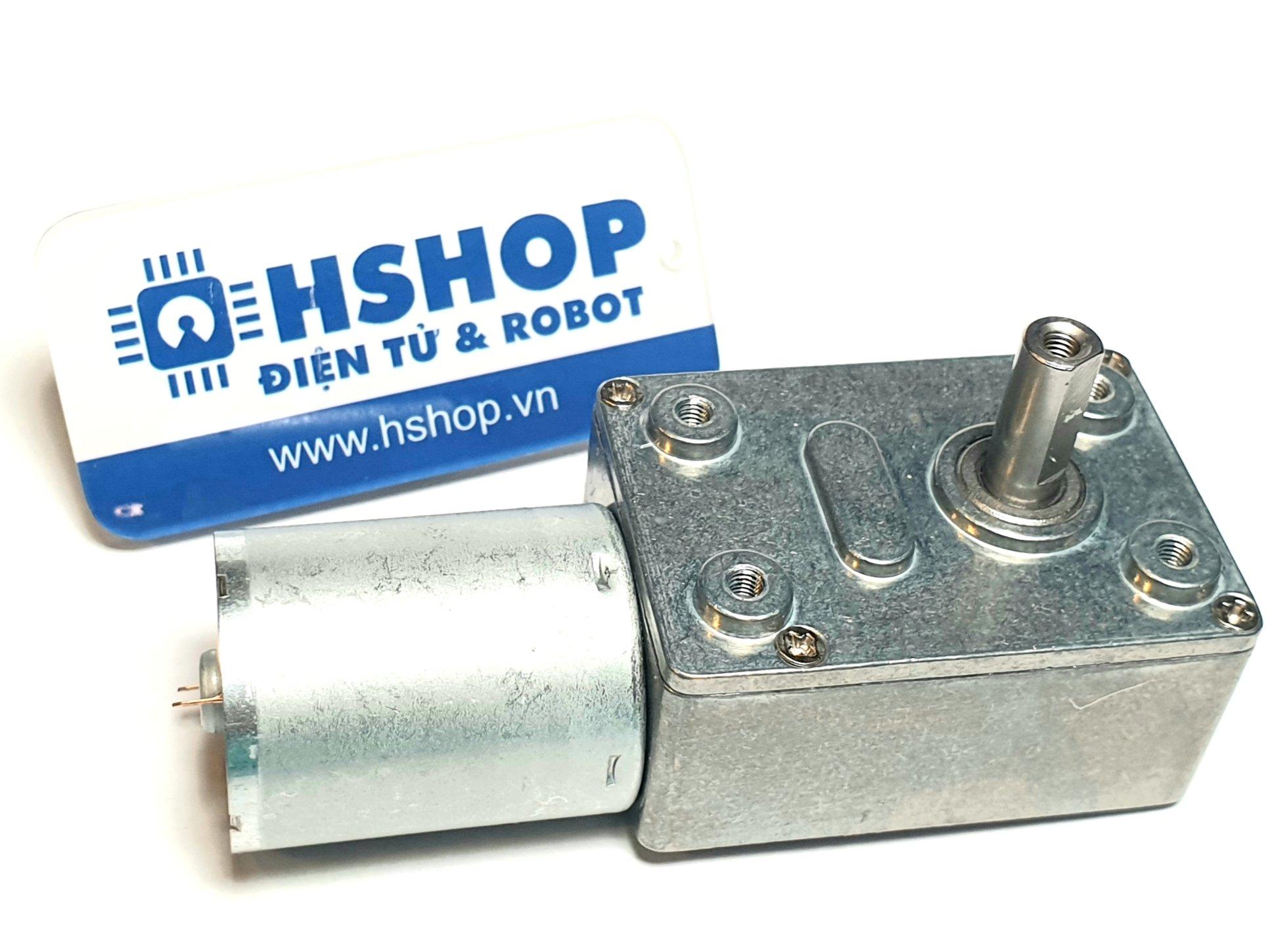 Động cơ DC giảm tốc JGY370 High Torque Self-Lock DC Geared Motor
