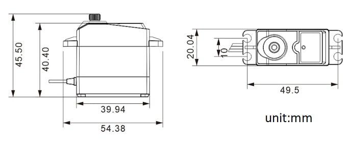 Động cơ Digital RC Servo LD-1501
