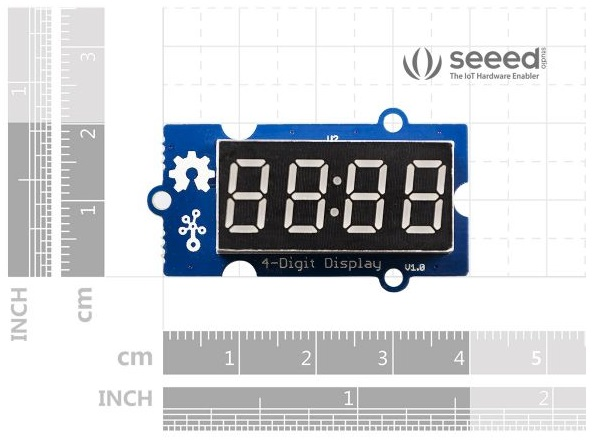 Grove - 4-Digit Display (hiển thị 4 Led 7 đoạn)