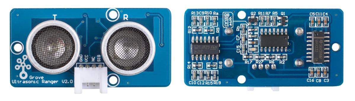 Grove - Ultrasonic Distance Sensor (Cảm biến siêu âm đo khoảng cách)