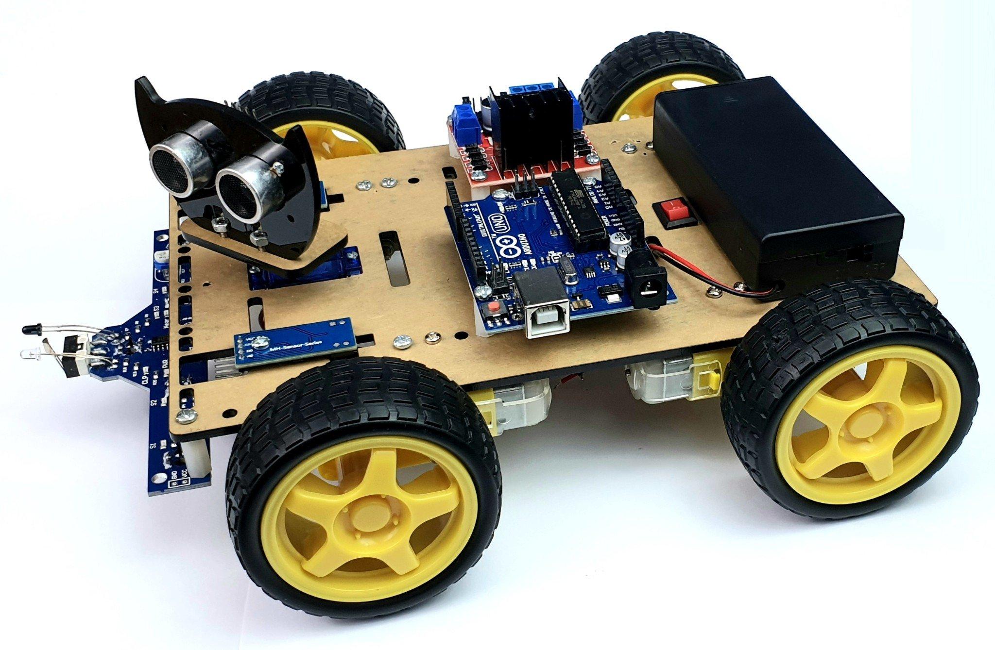 Khung xe Robot Chasiss Black Cat