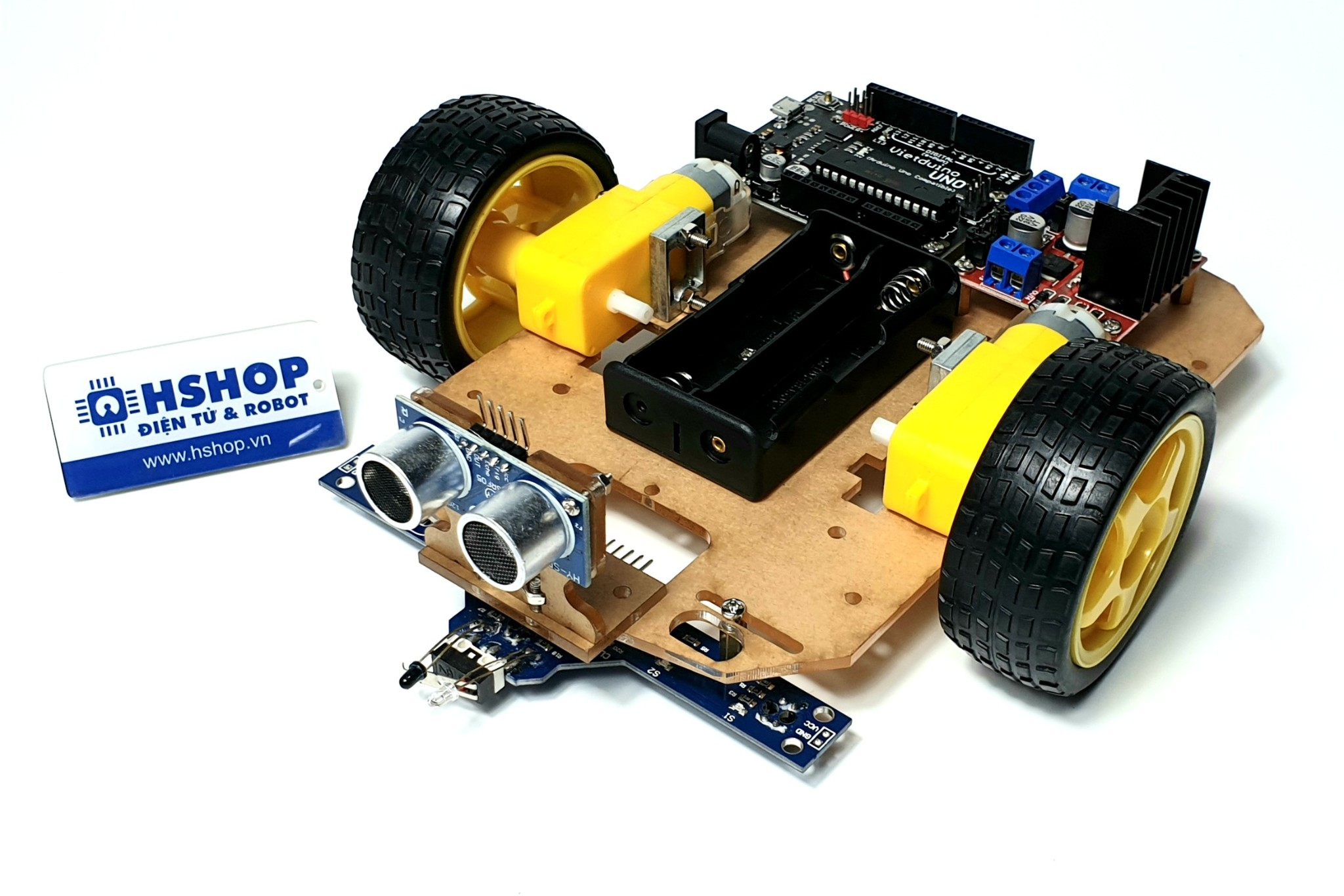 Khung xe Robot Chassis Simple S1