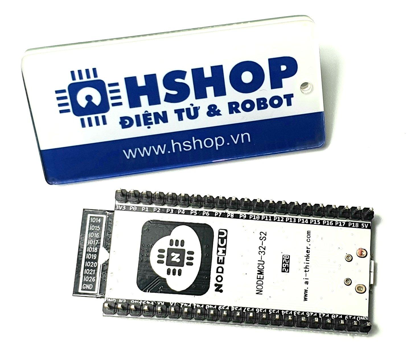 Kit RF thu phát Wifi BLE ESP32-S2 NodeMCU-32-S2 Ai-Thinker