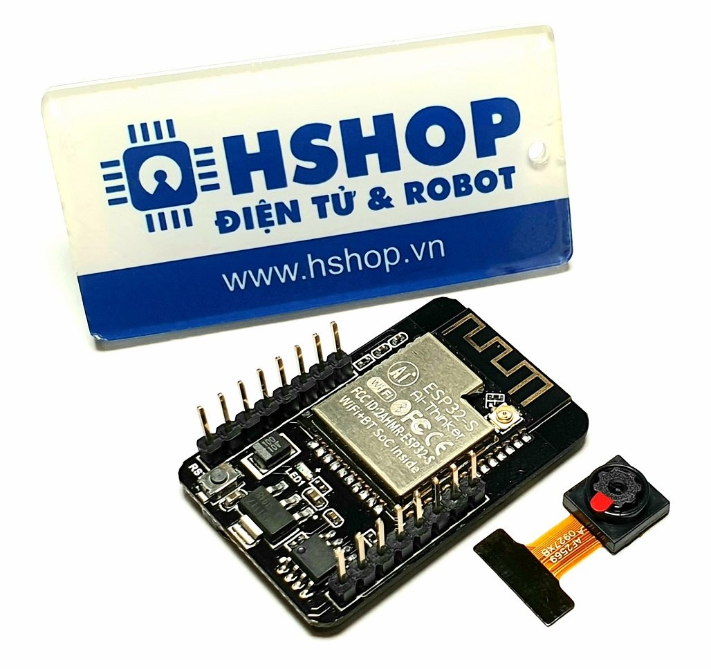 Kit RF thu phát Wifi BLE ESP32 Camera ESP32-CAM Ai-Thinker