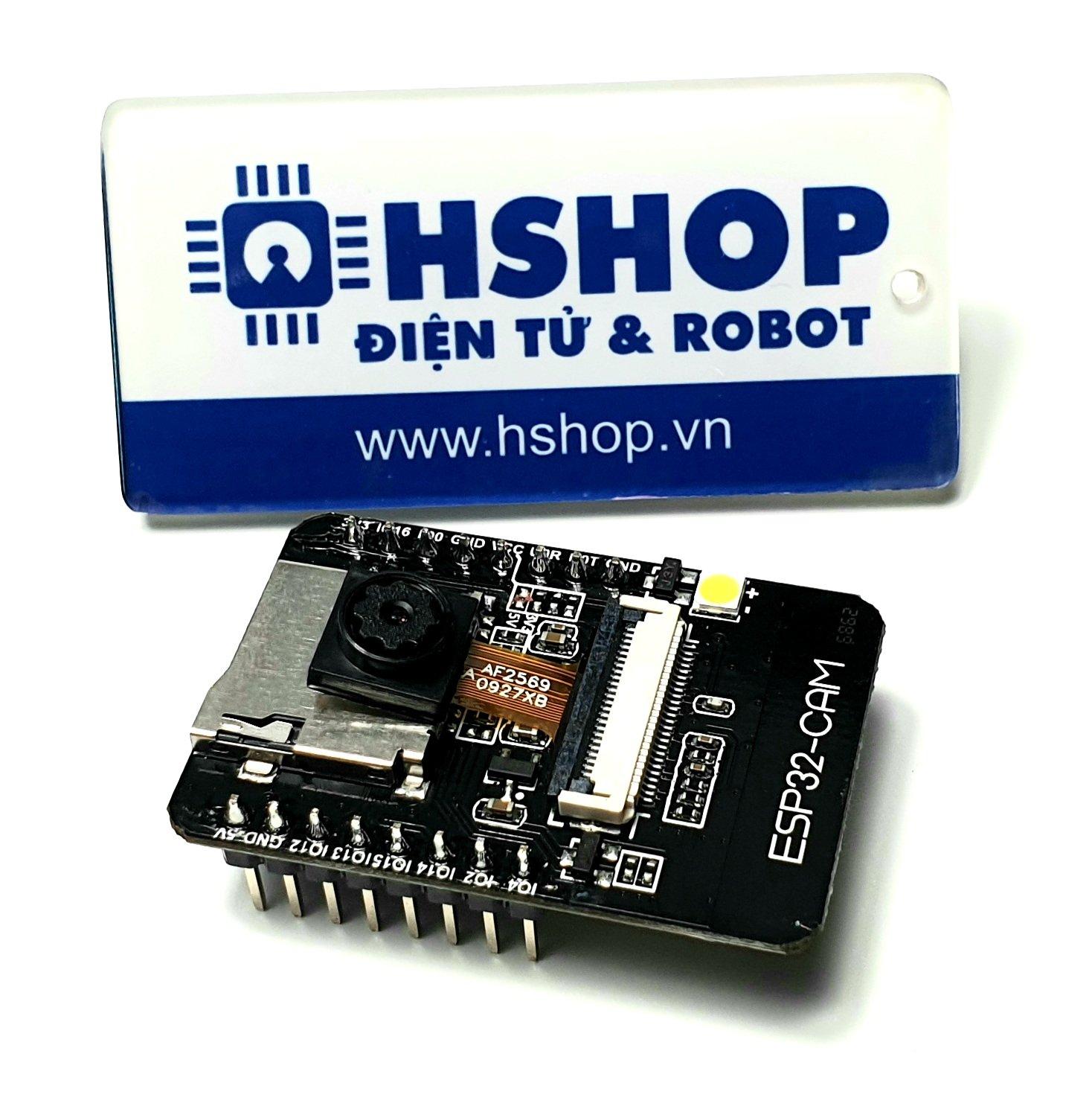 Kit RF thu phát Wifi BLE ESP32 Camera ESP32-CAM Ai-Thinker