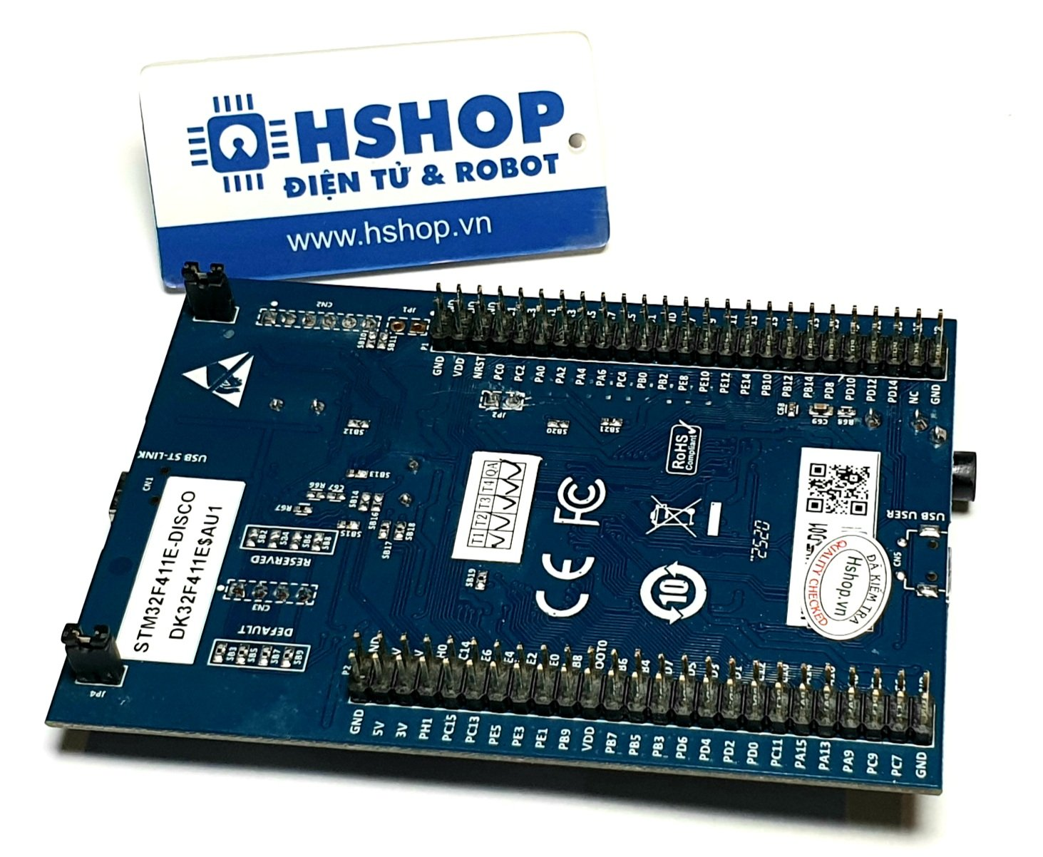 Kit STM32F411 Discovery (ARM Cortex M4 + DSP Core)